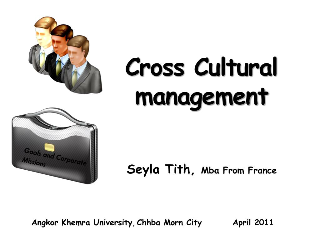 cross cultural management l.
