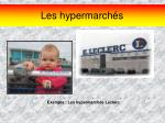 les hypermarch s16