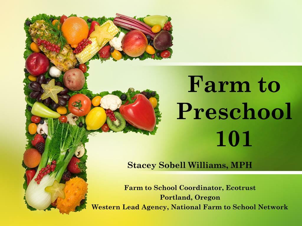 farm to preschool 101 l.