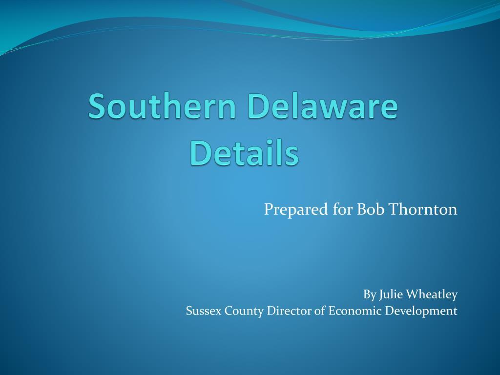 southern delaware details l.