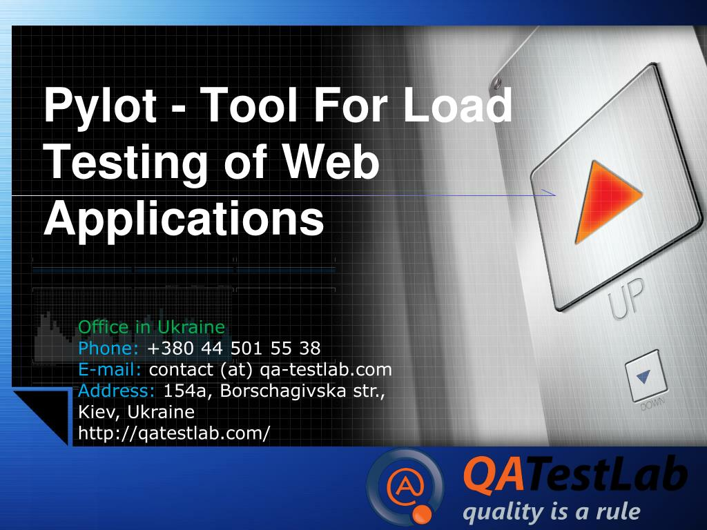 pylot tool for load testing of web applications l.