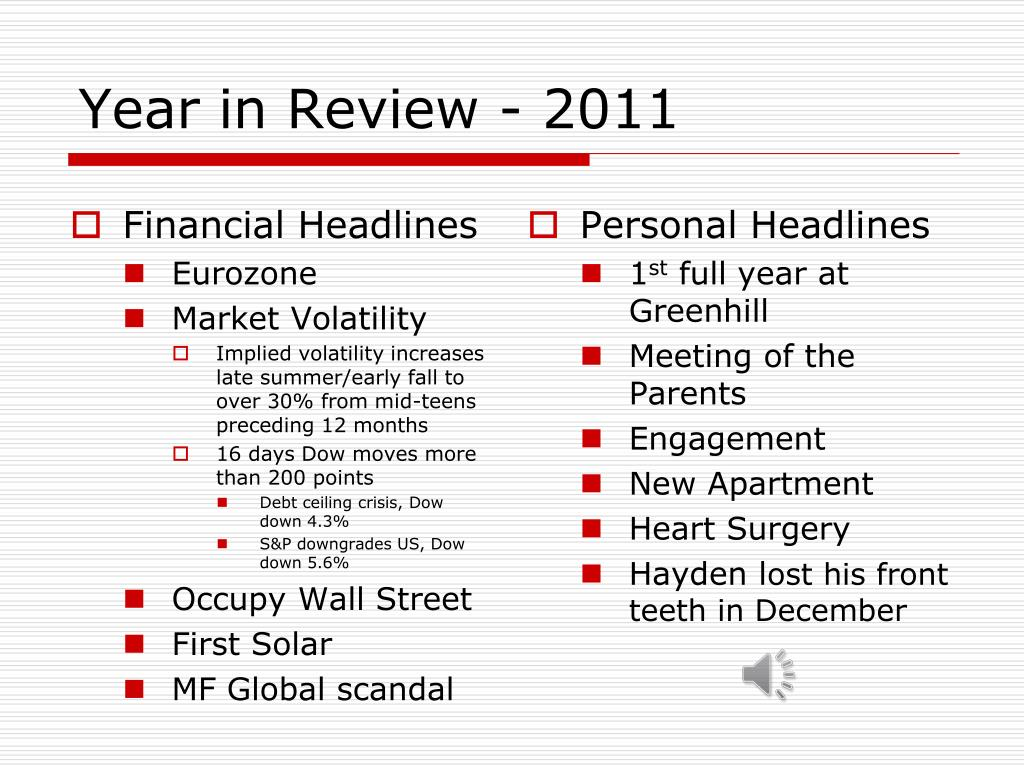 year in review 2011 l.