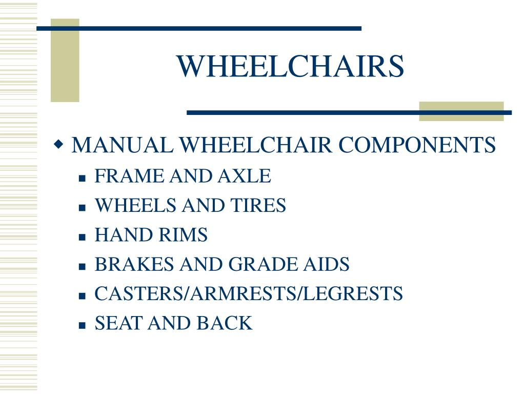wheelchairs l.