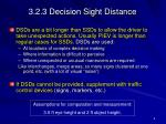 3 2 3 decision sight distance