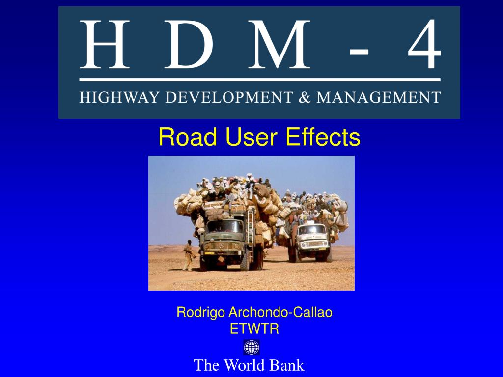 road user effects l.
