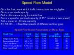 speed flow model15