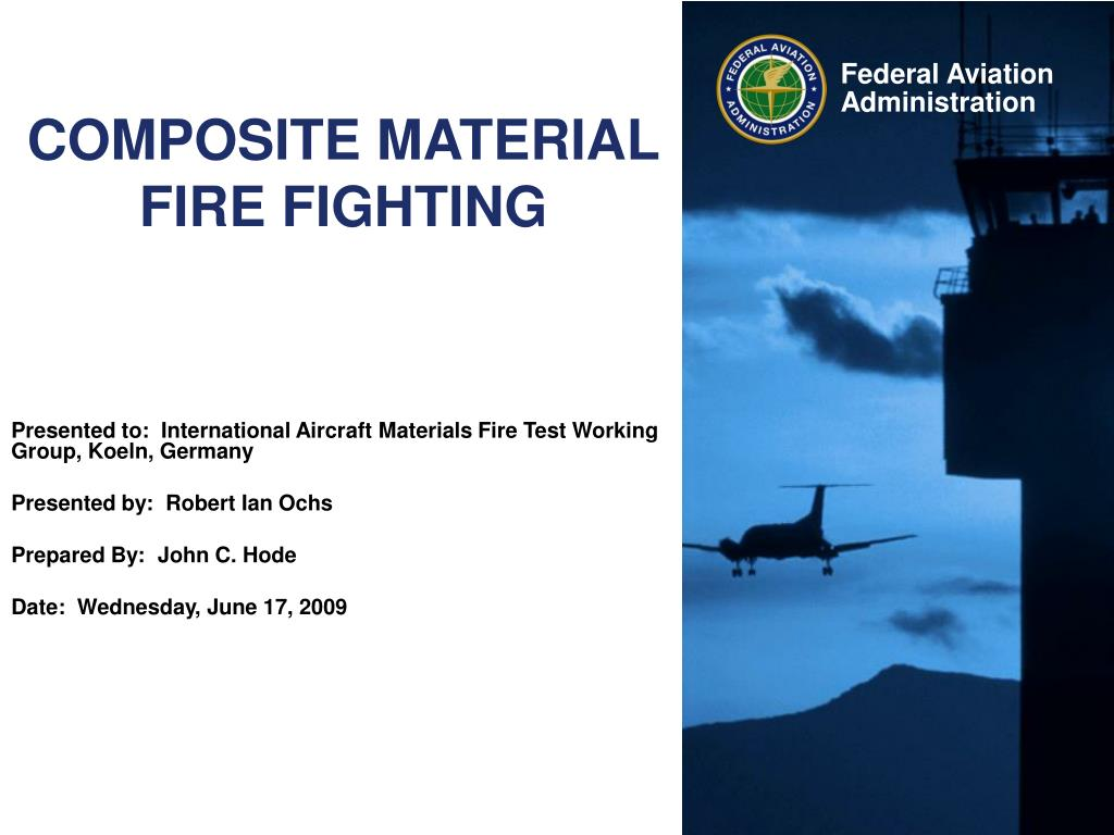 composite material fire fighting l.