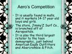 aero s competition