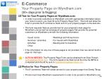 e commerce your property page on wyndham com 30 days prior to flagging