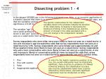 dissecting problem 1 4