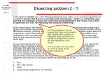 dissecting problem 2 1