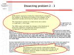 dissecting problem 2 3