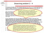 dissecting problem 2 4