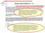dissecting problem 3 5