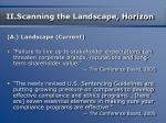 ii scanning the landscape horizon14