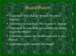 brand power