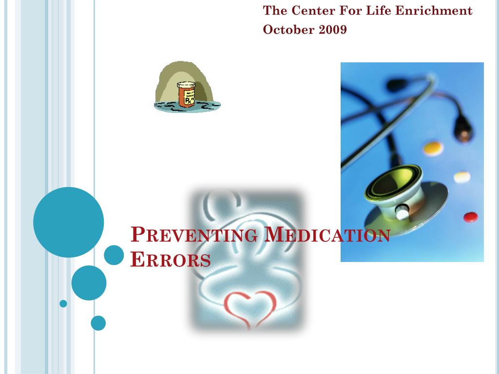 preventing medication errors l.