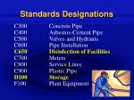standards designations13