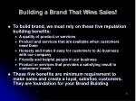 building a brand that wins sales8