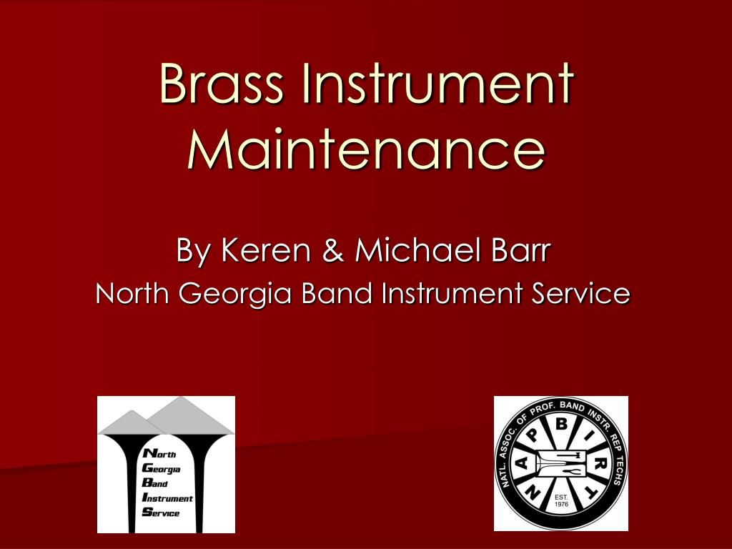 brass instrument maintenance l.