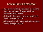 general brass maintenance3