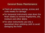general brass maintenance4