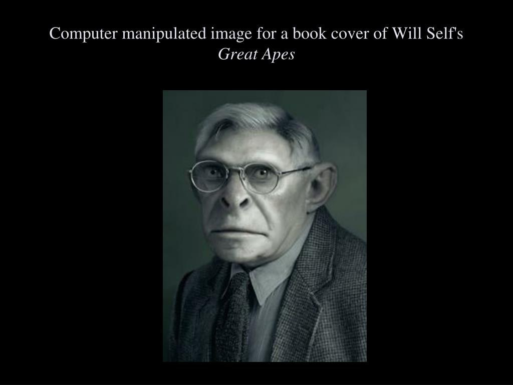 Computer manipulated image for a book cover of Will Self's