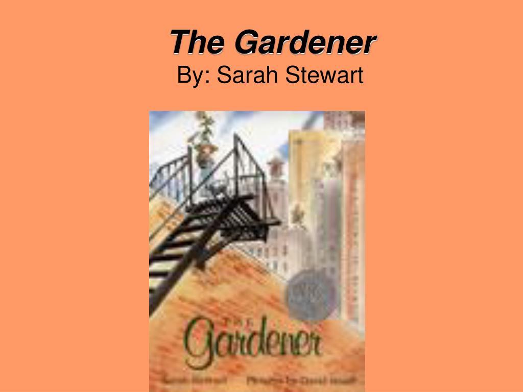 the gardener by sarah stewart l.