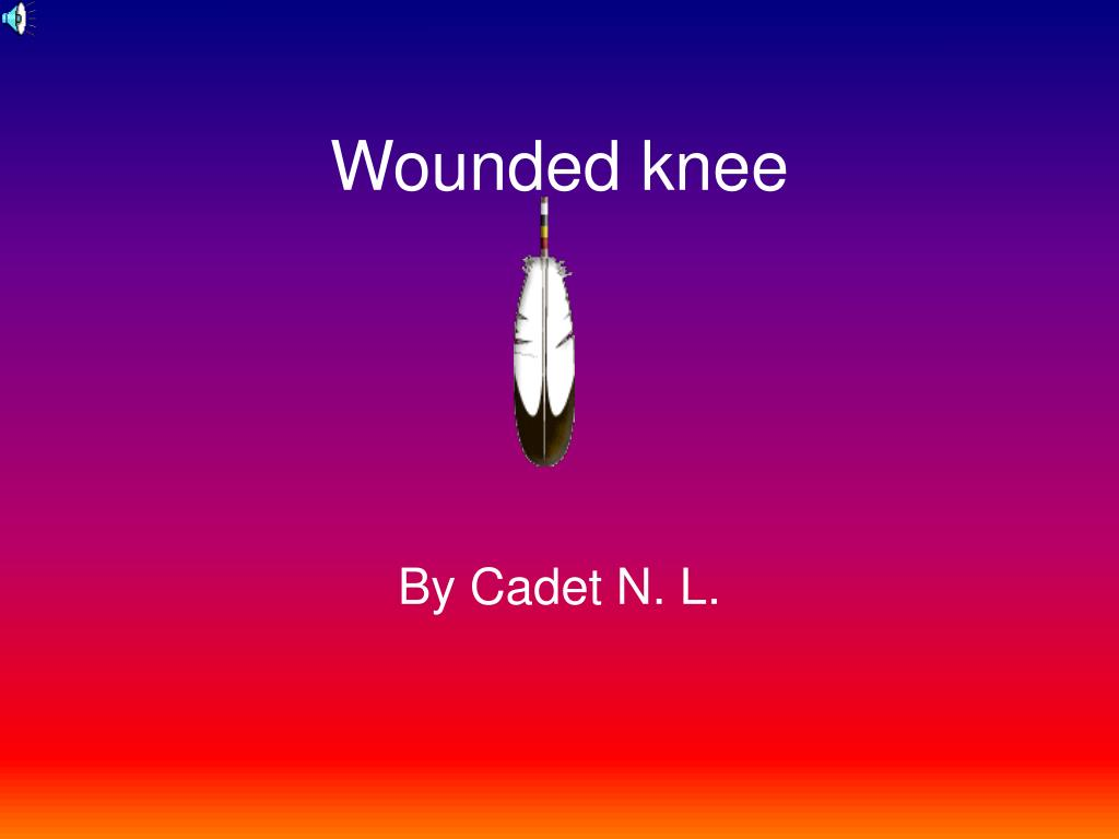 wounded knee l.