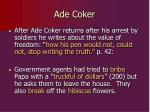 ade coker
