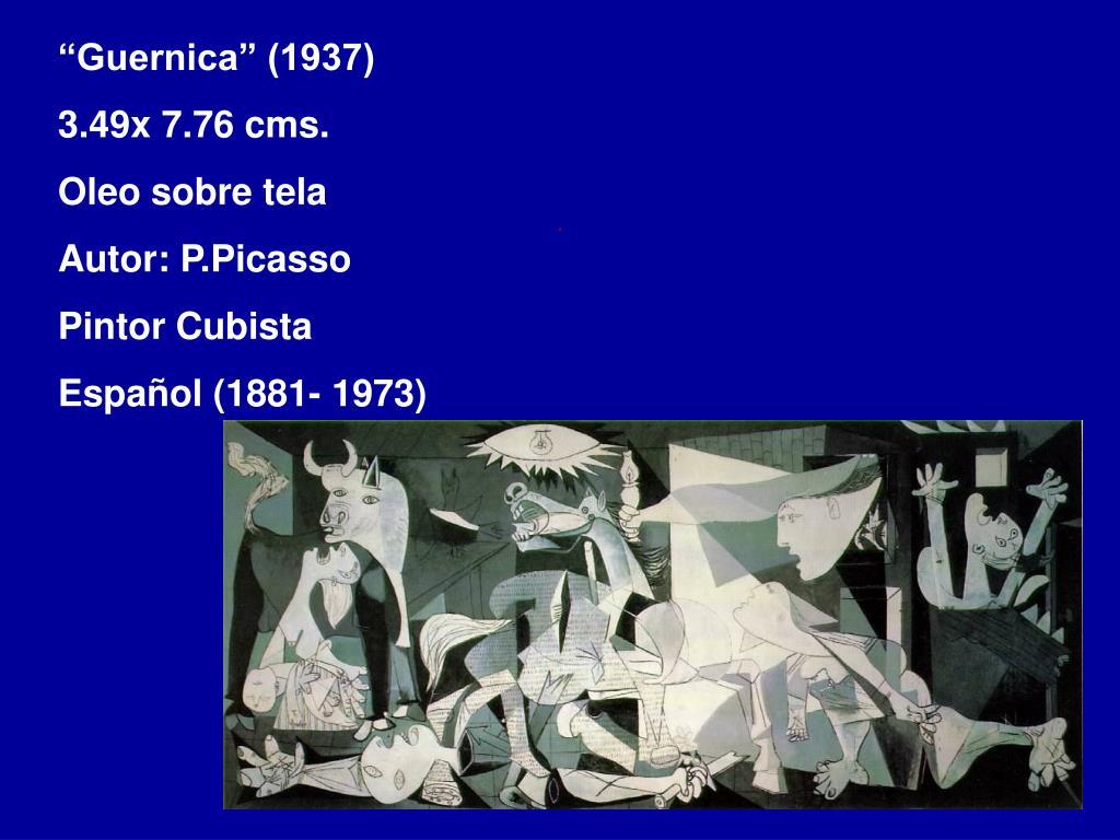 """Guernica"" (1937)"