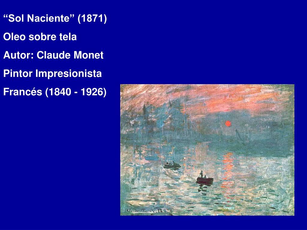 """""""Sol Naciente"""" (1871)"""