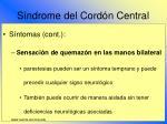 s ndrome del cord n central76