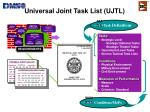 universal joint task list ujtl
