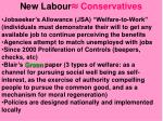 new labour conservatives