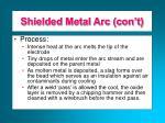 shielded metal arc con t