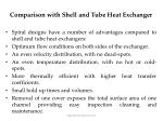 comparison with shell and tube heat exchanger26