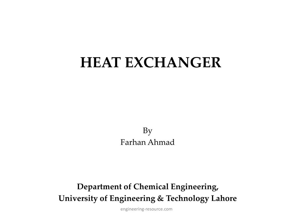 heat exchanger l.