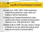 layoffs psychological contract21