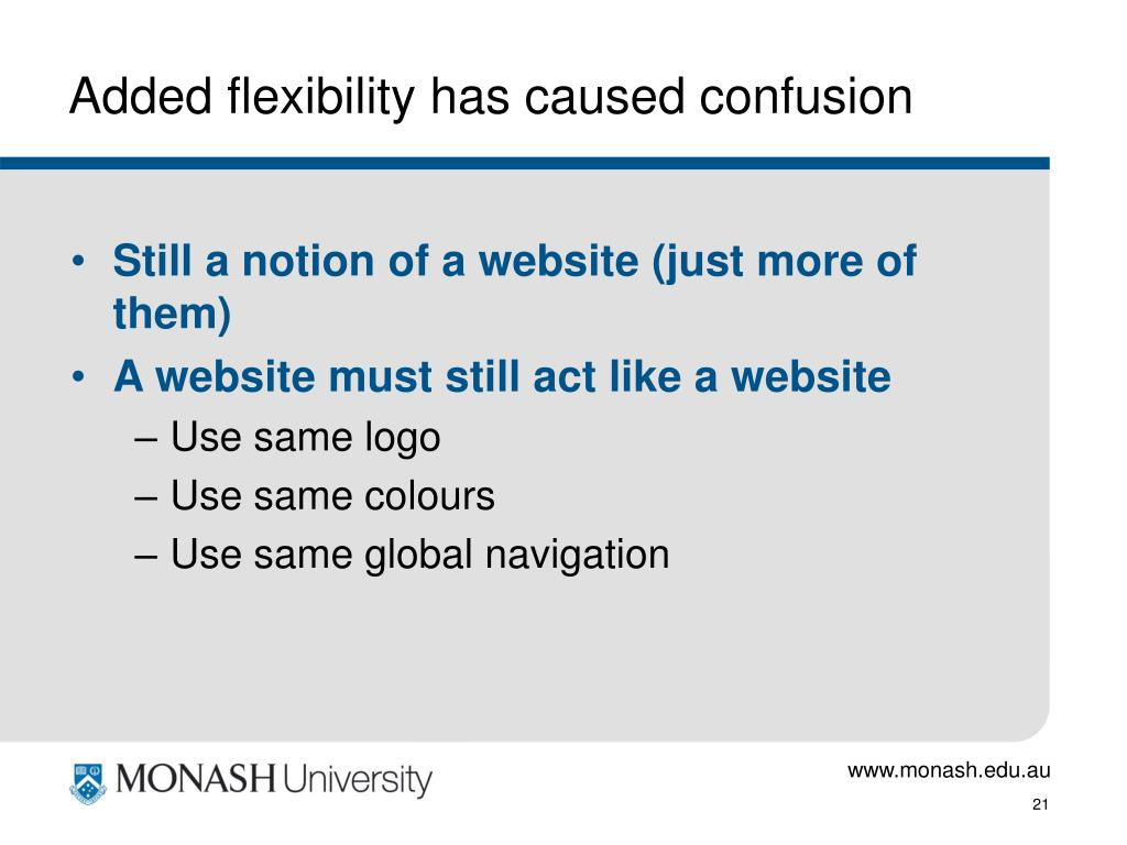Added flexibility has caused confusion