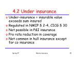 4 2 under insurance