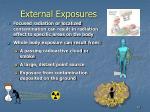external exposures