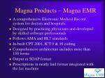magna products magna emr
