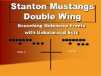 stanton mustangs double wing9