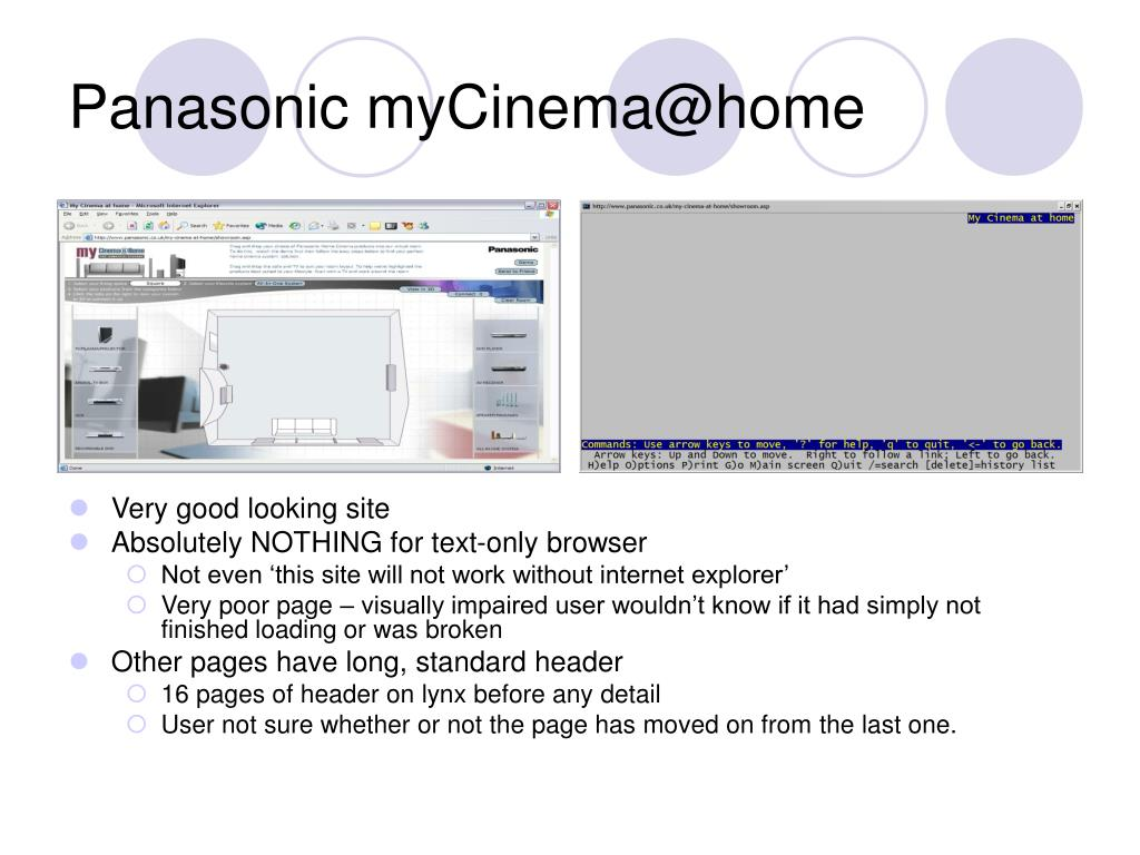 Panasonic myCinema@home