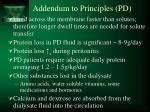 addendum to principles pd