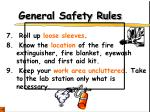 general safety rules4