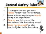 general safety rules5