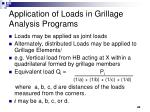 application of loads in grillage analysis programs40