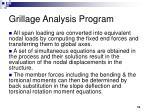 grillage analysis program10